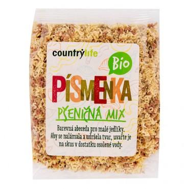Těstoviny písmenka pšeničná mix BIO 250g