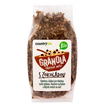 Granola - Křupavé müsli s čokoládou BIO 350g
