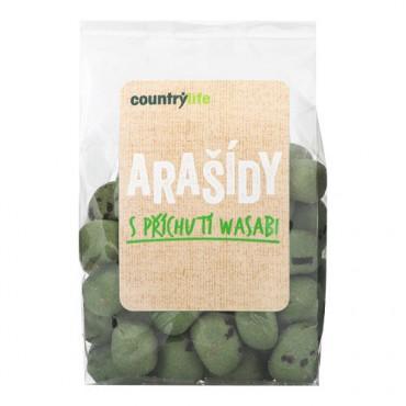 Arašídy s příchutí wasabi 100g