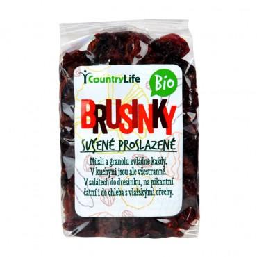 Brusinky BIO 100g