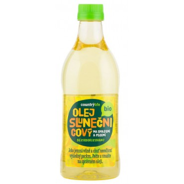 Olej slunečnicový dezodorizovaný BIO 1l