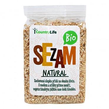 Sezam neloupaný natural BIO 100g