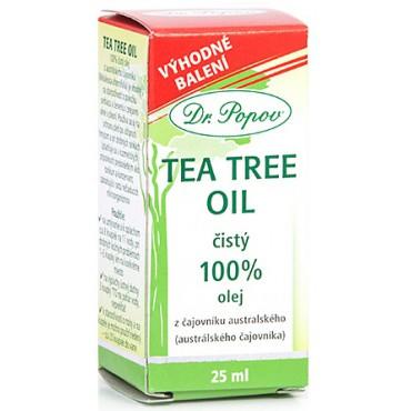 Dr. Popov: Tea tree oil 25ml