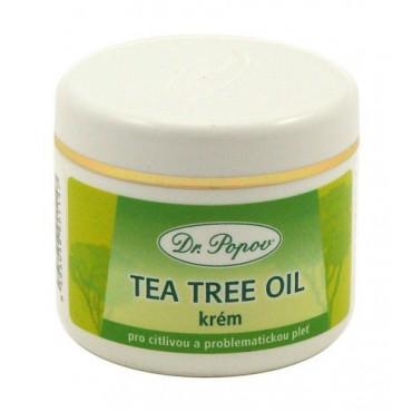 Dr. Popov: Tea Tree Oil krém 50ml