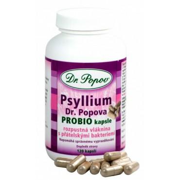 Dr. Popov: Psyllium Probio 120cps.