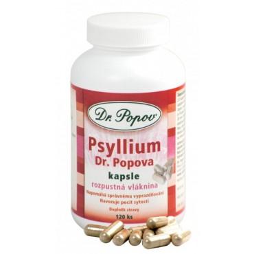 Dr. Popov: Psyllium zn. Psyllicol 120cps.