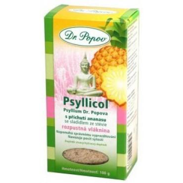 Dr. Popov: Psyllicol s příchutí ananasu 100g