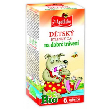 Apotheke: Dětský čaj na dobré trávení BIO 20x1,5g