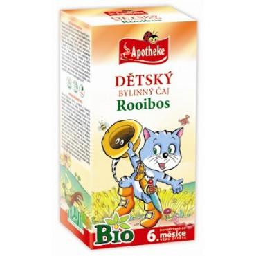 Apotheke: Dětský čaj Rooibos BIO 20x1,5g