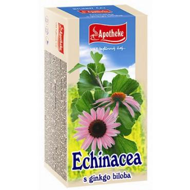 Apotheke: Čaj Echinacea s ginkgo bilobou 20x1,5g