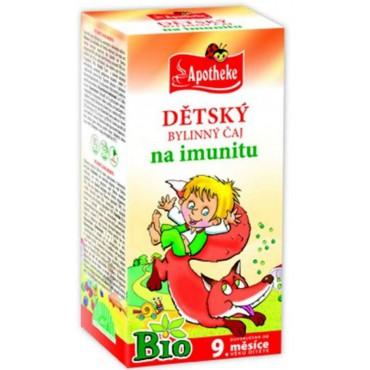 Apotheke: Dětský čaj na imunitu BIO 20x1,5g