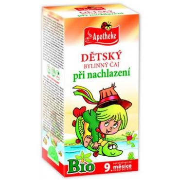 Apotheke: Dětský čaj při nachlazení BIO 20x1,5g