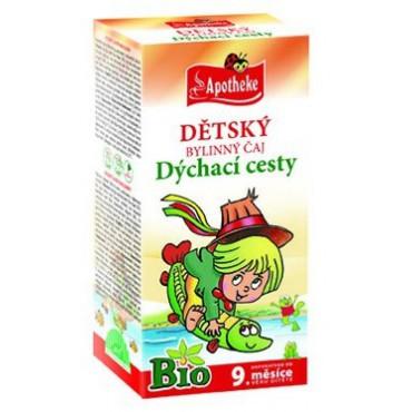 Apotheke: Dětský čaj BIO dýchací cesty 20x1,5g