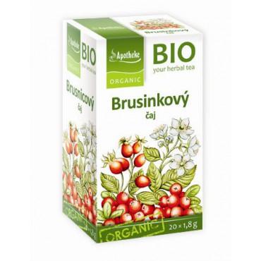 Apotheke: Brusinkový čaj ovocný BIO 20x1,5g