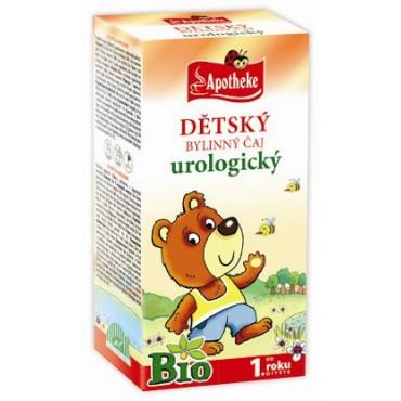 Apotheke: Dětský urologický čaj BIO 20x1,5g