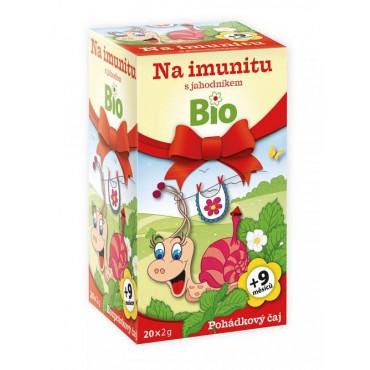 Apotheke: Čaj na imunitu s jahodníkem BIO 20x2g