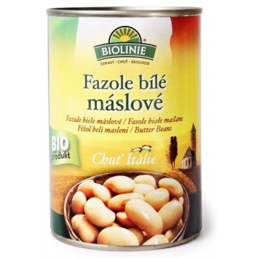 Biolinie: Fazole bílé máslové BIO 400g