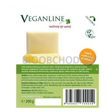 Veganline: Rostlinný sýr uzený 200g