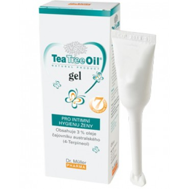 Dr.Müller: Tea Tree Oil vaginální gel 7x7,5ml