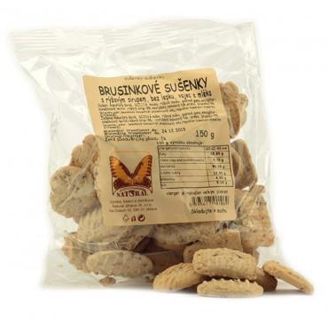 Brusinkové sušenky 150g