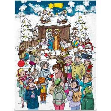 Adventní kalendář Fair Trade BIO 75g