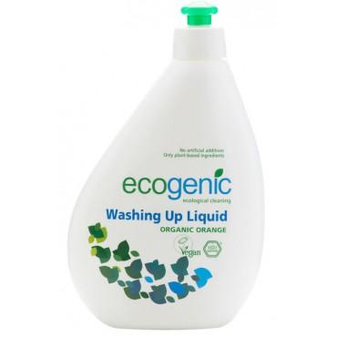 Ecogenic: Přípravek na mytí nádobí s pomerančem 500ml