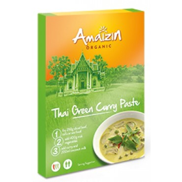Amaizin: Thajská Green Curry pasta BIO 80g