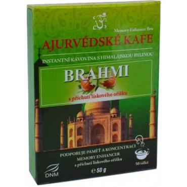 Ajurvédské kafe Brahmi s příchutí lískový oříšek 50g