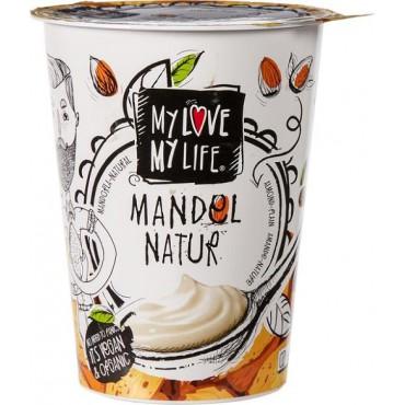 Mandlový zakysaný jogurt natur Bílý BIO 400g