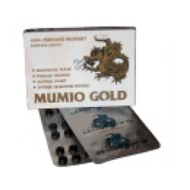Gold Mumio - Dragon Power 30tbl.