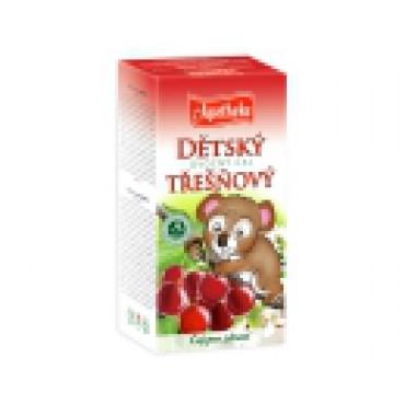 Apotheke: Dětský ovocný třešňový čaj 20x20g