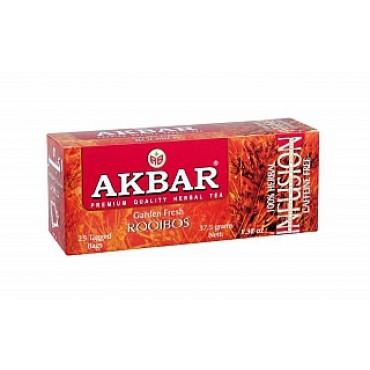 Akbar: Rooibos 25x1,5g