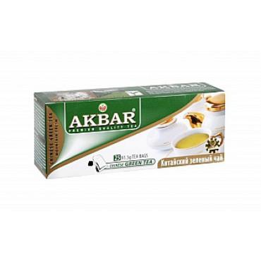 Akbar: Zelený čaj 25x1,5g