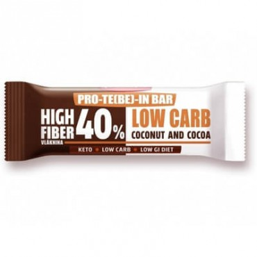 Tyčinka PRO-TE(BE)-IN Low carb kakao 35g