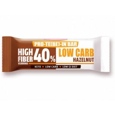 Tyčinka PRO-TE(BE)-IN Low carb lískový ořech 35g