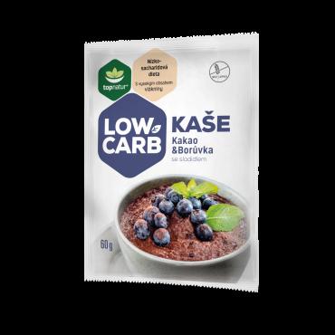Topnatur: Low carb kaše Kakao & Borůvka 60g