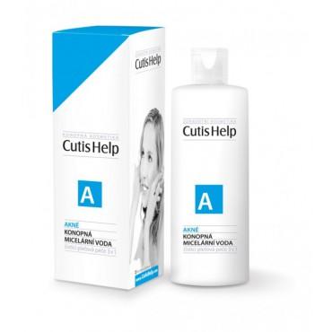 CutisHelp: Konopná micerální voda Akné 200ml