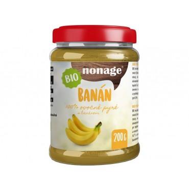 nonage: Ovocné pyré banánové BIO 200g