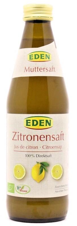 Eden: Šťáva citronová BIO 330ml