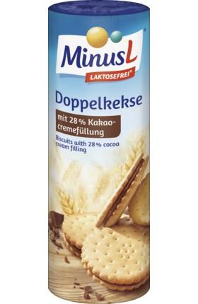 MinusL: Disko sušenky kakaové bez laktózy 300g