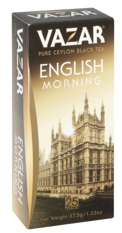 Vazar: English morning FBOP 25x1,5g