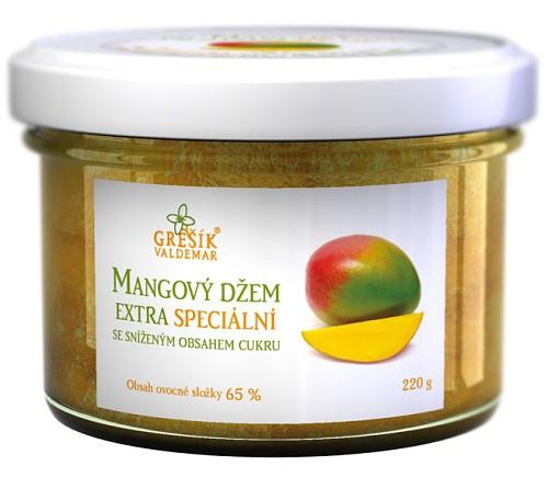 Grešík: Džem Mangový extra Speciální 220g