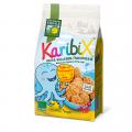 Ovesno-ovocné celozrnné keksy Karibix BIO 125g