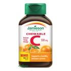 Jamieson: Vitamín C 500mg pomeranč cucací 120tbl.