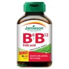 Jamieson: Vitamíny B6, B12 a kyselina listová 110tbl.
