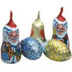 Čokoládové vánoční dekorace BIO 62,5g
