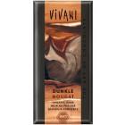Vivani: Hořka čokoláda nugátová BIO 100g