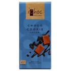 iChoc: Rýžová čokoláda se sušenkami BIO 80g