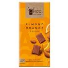 iChoc: Rýžová čokoláda s mandlemi a pomerančem BIO 80g