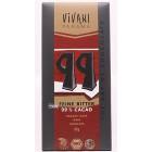Vivani: Hořká čokoláda 99%  BIO 80g